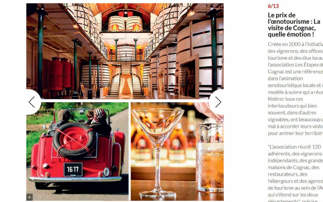 La visite du vignoble de Cognac, que d'émotions !