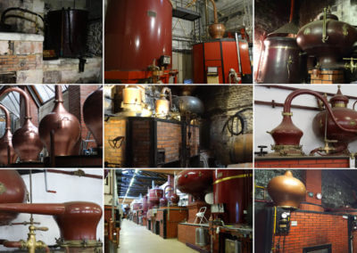 Some of the distilleries visited during the excursions with our inbound travel agency