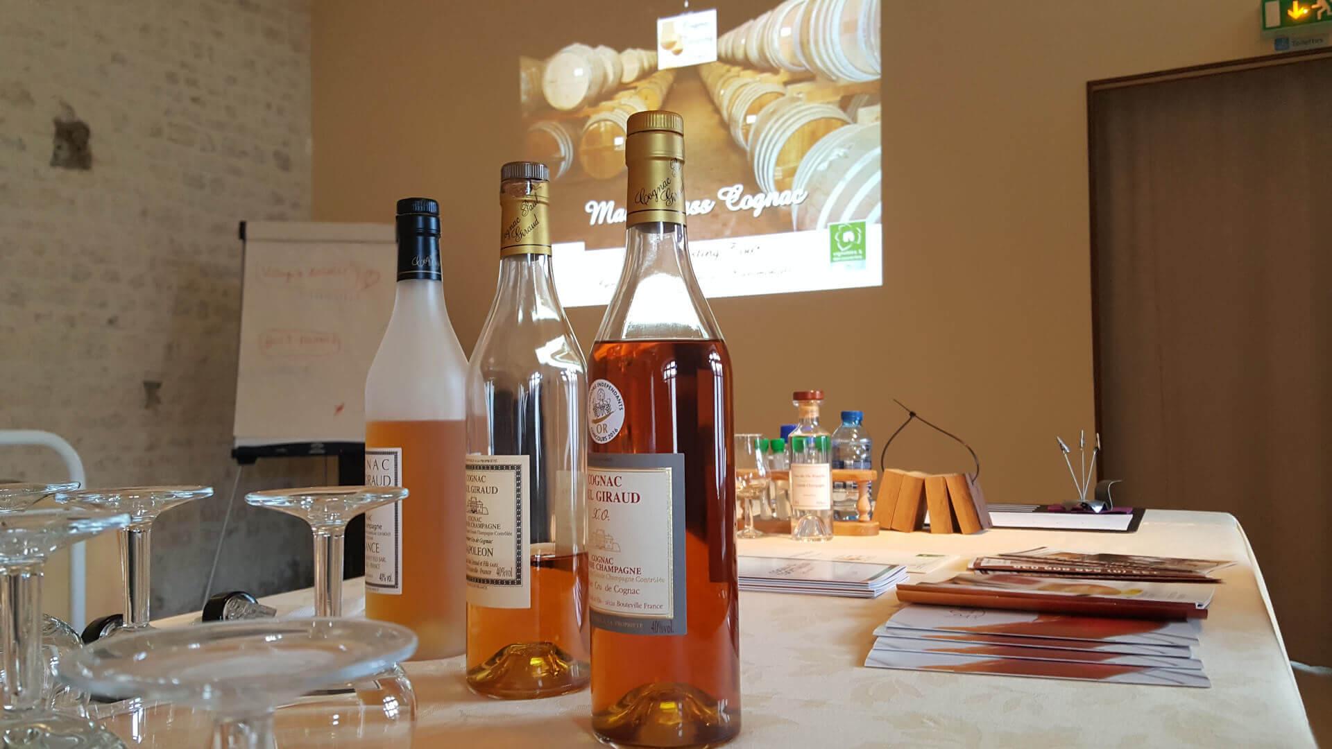 Atelier Dégustation de Cognac
