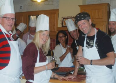 Cooking workshop with friends to discover the gastronomy of the Charentes