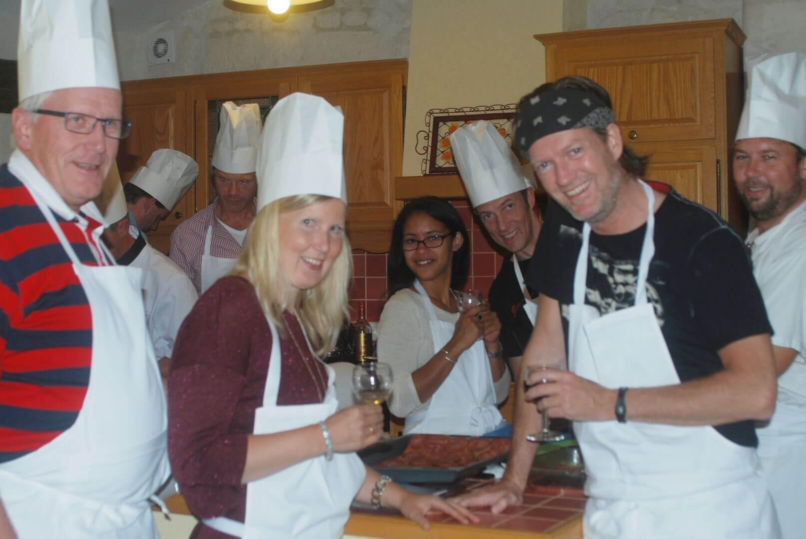 Atelier cuisine entre amis pour découvrir la gastronomie des Charentes