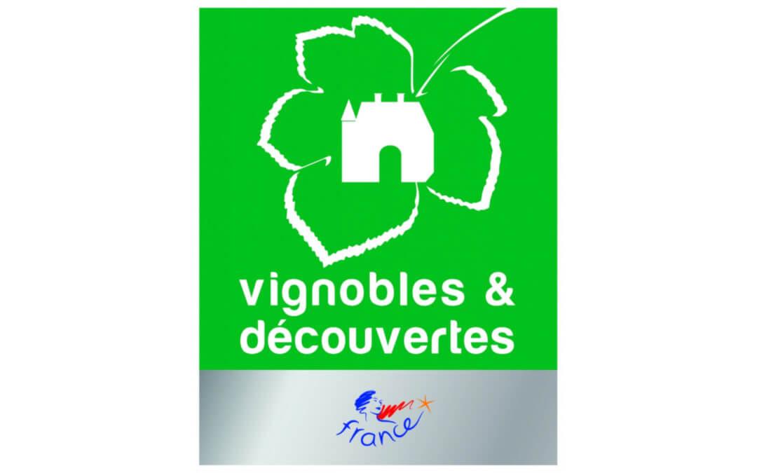 Label «Vignobles et Découvertes»