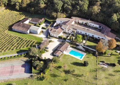 Le Relais de Saint Preuil, charming residence in the middle of the Cognac vineyards