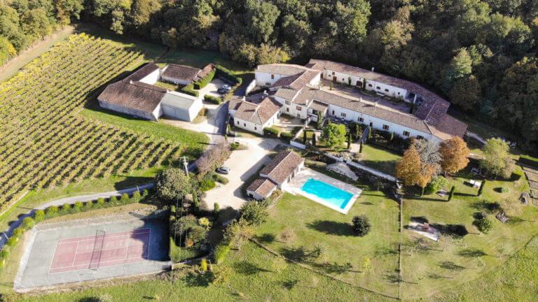 Le Relais de Saint Preuil, demeure de charme au milieu du vignoble de Cognac