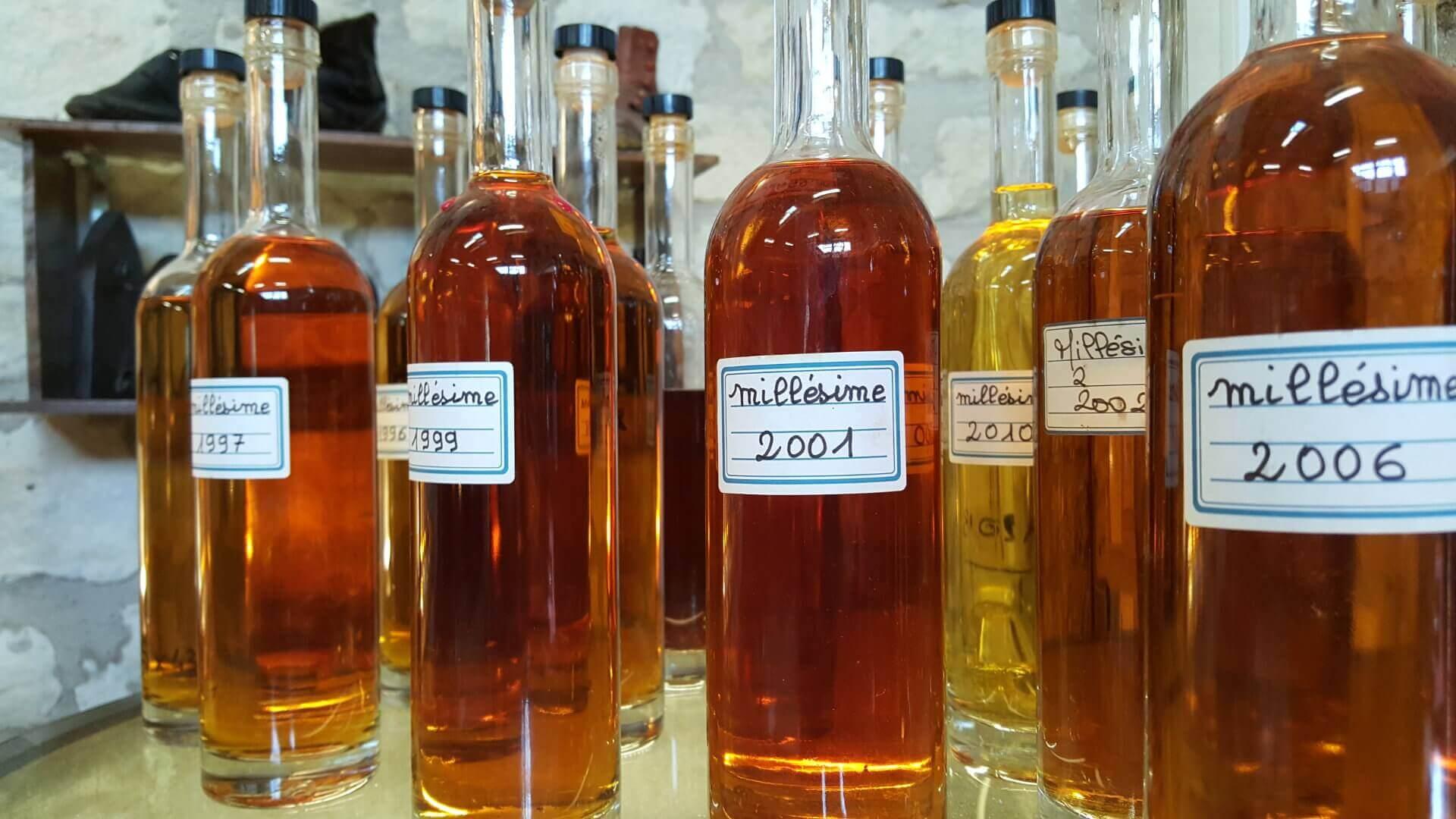 Des millésimes de cognac à découvrir et déguster dans une distillerie artisanale